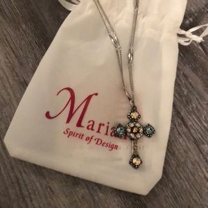 Mariana Spirit of Design Cross Necklace